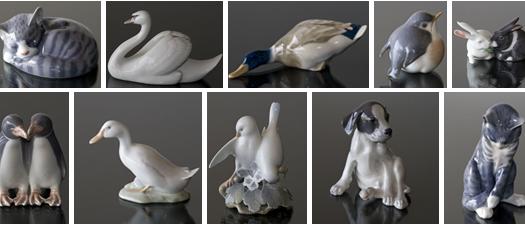 Ceramiche Di Copenaghen Prezzi.Figurine Di Animali Royal Copenhagen Disponibili Presso Dph Trading